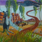 Dreamtime - original painting by Bob Sutor - $600